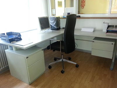 Estanter as de ocasi n mobiliario - Mobiliario oficina ocasion ...
